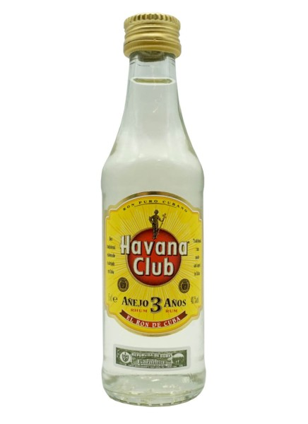 Havana Club 3 Jahre Mini 5cl