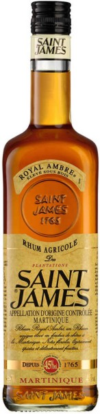 St. James Royal Ambre 0,7 l