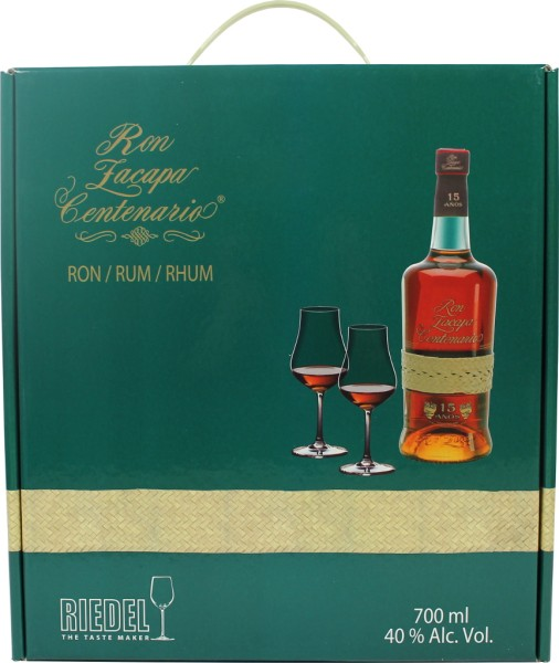 Ron Zacapa 15 Anos Reserva Riedel Set - Old Edition