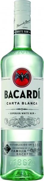 Bacardi Rum Carta Blanca 1 l