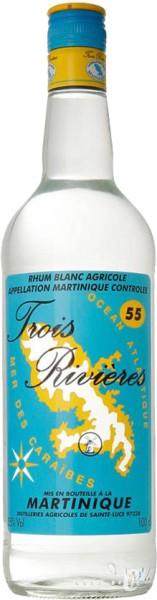 Trois Rivieres Blanc Rum 55% 1Liter