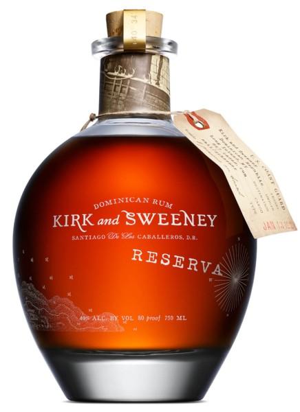 Kirk and Sweeney Rum Reserva 0,7 Liter