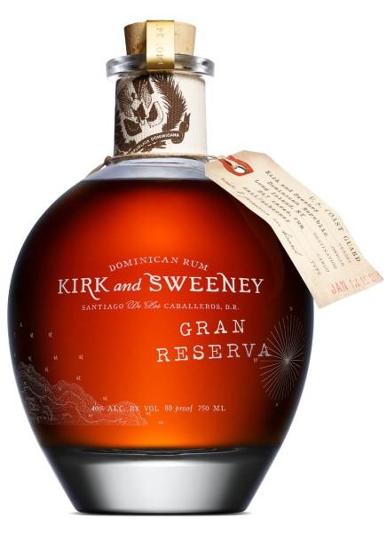 Kirk and Sweeney Rum Gran Reserva Superior 0,7 Liter