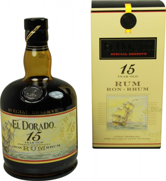 El Dorado Rum 15 Yrs. 0,7l