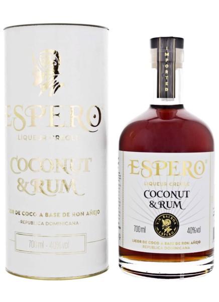 Espero Likör Creole Coconut & Rum 0,7 Liter
