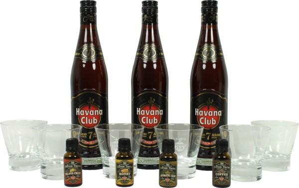 Havana Club - Aromatic Bitter Gläser Set