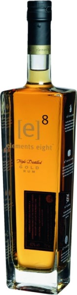 Elements 8 Eight Gold Rum 0,7 l