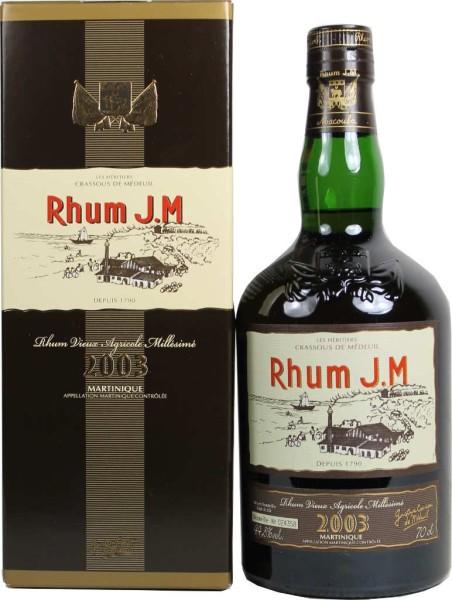J.M. Rhum Vintage 2003 0,7 l