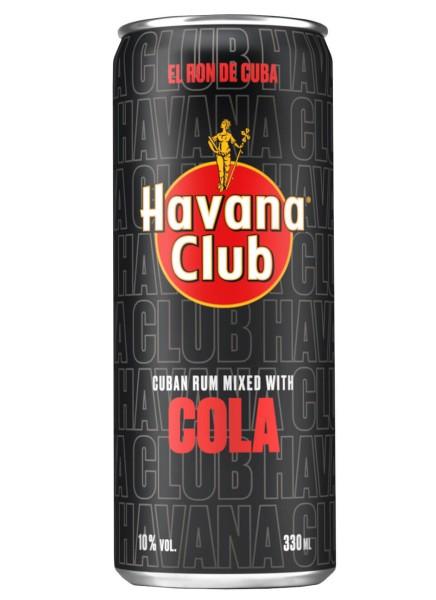 Havana Club & Cola 0,33 Liter Dose