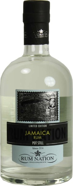 Rum Nation Jamaica White Pot Still 0,7 l