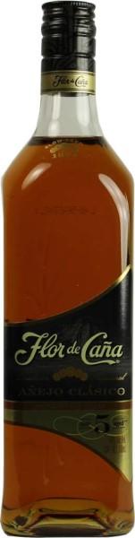 Flor de Cana Rum Anejo Clasico 5 Jahre 0,7 l