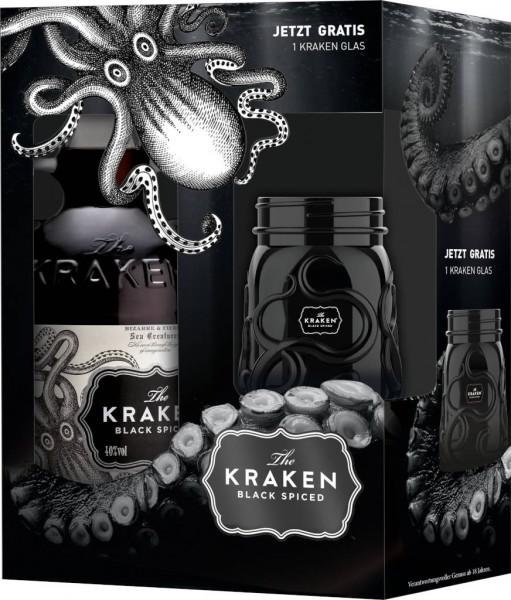 Kraken Spiced Black 0,7l mit Glas