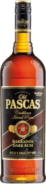 Old Pascas Ron Negro Dark Rum 1,0 l
