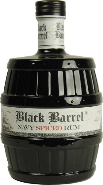 A.H. Riise Black Barrel Premium Navy Spiced 0,7 l