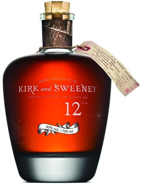 Kirk and Sweeney Rum 12 Jahre 0,7l
