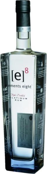 Elements 8 Eight Platinum Rum 0,7 l