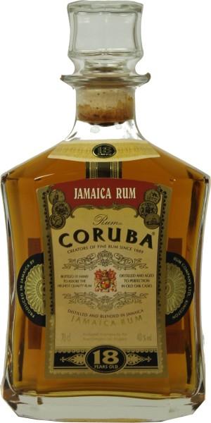 Coruba Jamaica Rum 18 Yrs 0,7 l