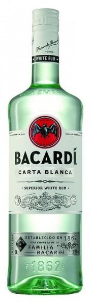 Bacardi Rum Carta Blanca 3 l