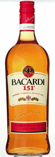 Bacardi 151 1 l