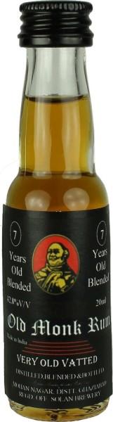 Old Monk Rum 7 Jahre Mini