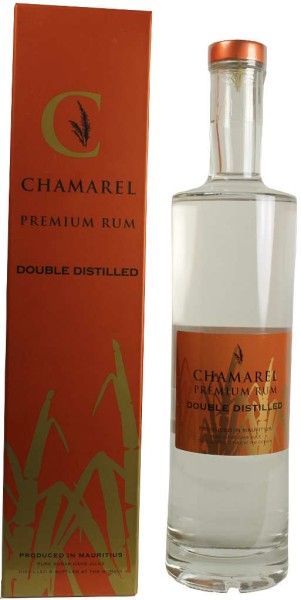 Chamarel Double Distilled Rum 0,7L