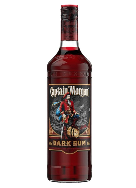 Captain Morgan Dark Rum 40% 0,7 Liter