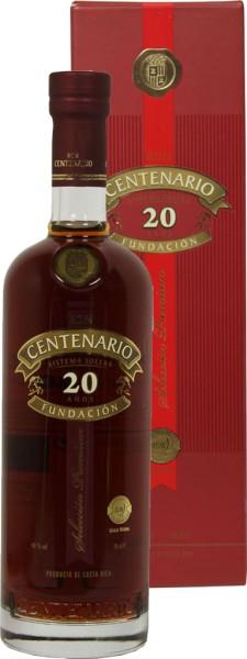 Centenario Rum Fundacion 20 yrs.
