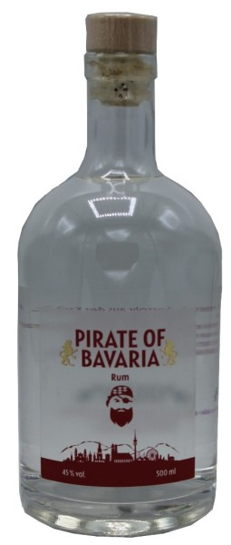 Pirate of Bavaria Rum 0,5 l