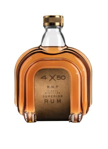 4X50 R.N.P Finely Distilled Superior Rum 0,7 Liter