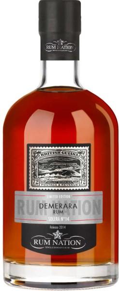 Rum Nation Demerara Solera No. 14 0,7 l